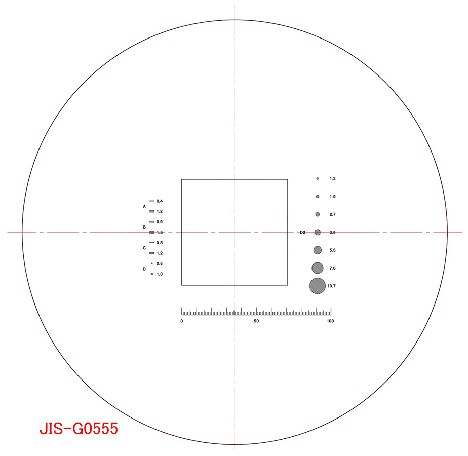 R2000 enlarged drawingnonmetallic inclusion test scaleeyepiece nonmetallic inclusion test scaler2000 enlarged drawing ccuart Images